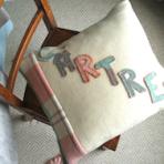Vintage Welsh Blanket Cushion Cover – Cartref